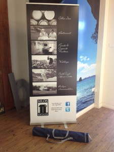 Silos Estate Roll-Up Banner