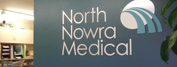 North Nowra Medical Reception Sign